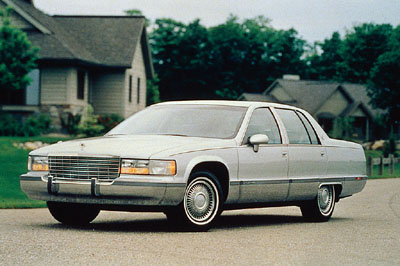 Cadillac Fleetwood Brougham Parts